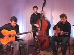 "Jazz Manouche "" Ménilmontant "" ( Charles Trenet ) Samy Daussat Trio"