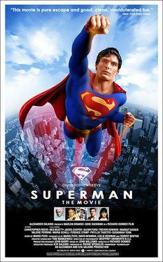 Superman 1978 directed by Richard Donner Arte Do Superman, Superman Movies, Dc Movies, Superhero Movies, Great Movies, Movies And Tv Shows, Movie Tv, Movies Online, Cinema Tv