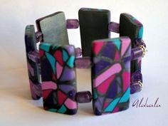le bracelet vitrail