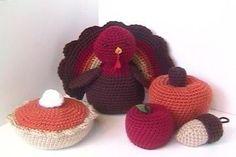 Amigurumi Patterns Crochet Autumn Pattern Set PDF. $5.00, via Etsy.