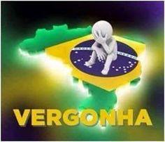 SOLARIS : VERGONHA - Brasil Brazil World Cup, 3d Man, Janis Joplin, Rock Style, Emoticon, Moana, Humor, Disney, Cards