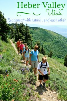 Families can combat nature deficit disorder while reconnecting with nature - and each other - in Heber Valley, Utah. Four-season adventure awaits! From fly fishing to downhill skiing, Heber Valley has it all.