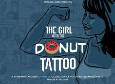 Donut tattoo. June 7 is national donut day. Yum
