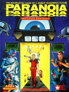 PARANOIA RPG Rule Book by West End Games (2nd Edition, Paperback, 1987) | eBay