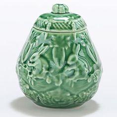 Verde Bunny Sugar Bowl