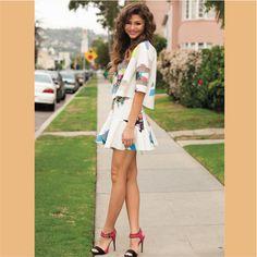 """zenvdaya: """"Zendaya for Justine Magazine (LQ) """" Zendaya Outfits, Zendaya Style, Beautiful Black Girl, Young And Beautiful, Cute Dresses, Cute Outfits, Zendaya Coleman, Teenager Outfits, Celebs"""