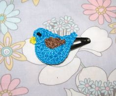 Little Bird Hair Clip by myindigollc on Etsy, $5.00