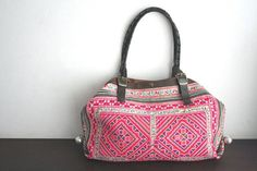 Tote++Hip+/+Tribal+/+Hmong+/+Miao+/+Ethnic+/+by+dazzlinglanna,+155.00
