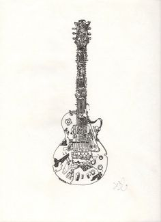 Les Paul Guitar tat that I want on my forearm.