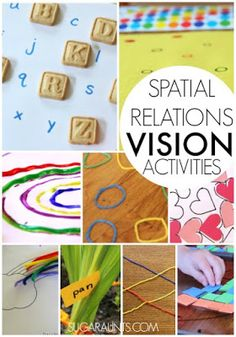 Vision activities for kids including visual perceptual activities, visual motor integration, hand-eye coordination, figure ground, visual discrimination, and all vision activities for kids.