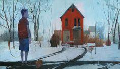 24 x 41, acrylic on panel Andrew Hem