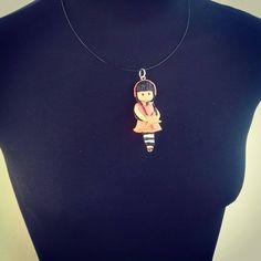 Mira este artículo en mi tienda de Etsy: https://www.etsy.com/es/listing/508768941/statement-pendant-gift-women-polymer