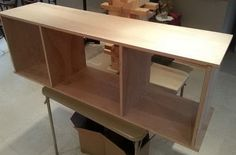 Diy entertainment stand plans floating do it yourself farmhouse center Tv Stand Out Of Pallets, Build A Tv Stand, Tv Stand Plans, Diy Tv Stand, Bench Plans, Table Plans, Corner Tv Cabinets, Diy Cabinets, Floating Tv Cabinet