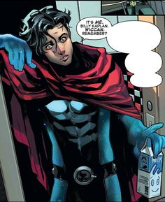 Marvel Comic Books, Marvel Heroes, Marvel Characters, Marvel Avengers, Marvel Comics, Wiccan Marvel, Hq Dc, Scarlet Witch Marvel, Young Avengers