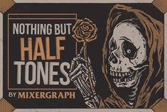 Nothing but Halftones by Mixergraph on @creativemarket