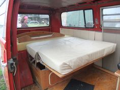Ruby's bed is one of the few original westy parts left.