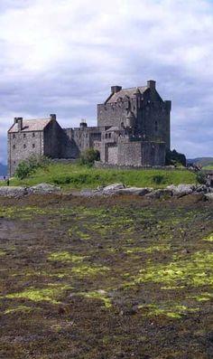 Dunstaffnage Castle, Argyll and Bute, Scotland. I swear I see a garage. ;)