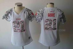 http://www.yjersey.com/49ers-21-gore-white-zebra-women-jerseys.html Only$34.00 49ERS 21 GORE WHITE ZEBRA WOMEN JERSEYS Free Shipping!
