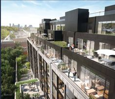 Eight Forty Condos boutique condominium under development by Wellesley Urban for a Midtown Toronto stretch along St. Clair Avenue West.  #RealEstate #Boutique #LowRise #Luxury #Luxurious #Interior #InteriorDesign #Exterior #Design #Decor #HomeDecor #Condo #CondoLife #Toronto #Architecture