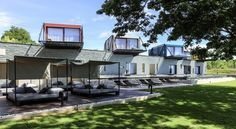 Container hotels, River Kwai