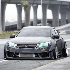 """""""Holy shit. This is one badass Accord! Owner: @pol_garageunique Punisher Honda/Acura Decals available in our bio, only $4 and free shipping! #Honda_Scene…"""""""