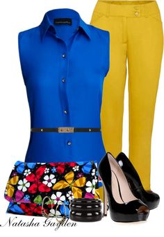 """""""Colorful Clutch"""" by natasha-gayden ❤ liked on Polyvore"""