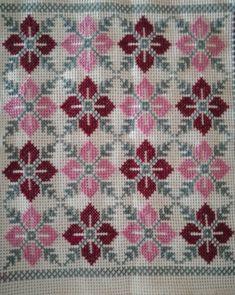 Cross Stitch Art, Cross Stitch Designs, Cross Stitching, Cross Stitch Embroidery, Cross Stitch Patterns, Hand Embroidery Design Patterns, Palestinian Embroidery, Chain Stitch, Needlepoint