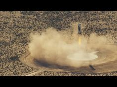 Blue Origin Successfully Launches, Lands Rocket for Third Time 4/4/16  | PCMag.com