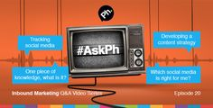 #AskPh - Week 20 Inbound Marketing Q&A Video Series. @SamanthaMykyte - #AskPh Hey Bryan, what is the best way to track social media? @RichardGahagan - #AskPh if you were able to pass on one specific piece of knowledge to every single person on planet earth what would it be? @healthatworkUK - Is it important for businesses to use all #SocialMedia; FB, Twitter, Google+, LinkedIn etc or ok to just focus on one? #AskPh @donaldmcmillan - What key factors do you use to develop a Content Strategy…