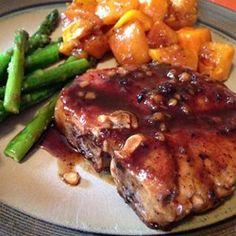 Pork Chops with Apple Cider Glaze - Allrecipes.com