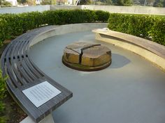 """""""Never again"""" Resting garden at The Cathedral of Christ the Light in Oakland, CA by SOM"""