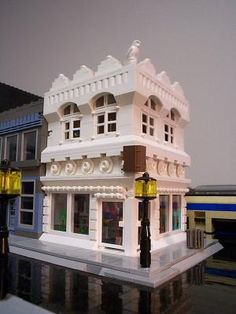 White's Bookstore: A LEGO® creation by Mitch Hiveley