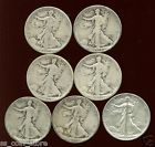 7 - Walking Liberty Half Dollars 90% Silver Coins Semi Key Date Lot - http://coins.goshoppins.com/us-coins/7-walking-liberty-half-dollars-90-silver-coins-semi-key-date-lot/