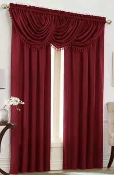 Burgundy Curtains On Pinterest Candle Wall Sconces Gold Curtains And Marble Top