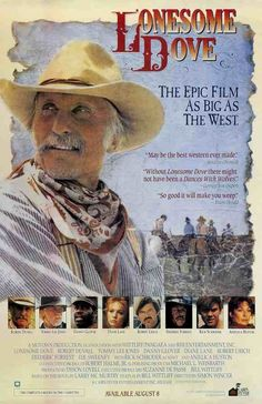 Lonesome Dove Movie Poster 27 X 40 Robert Duvall Tommy Lee Jones, A, Licensed Danny Glover, Tommy Lee Jones, Robert Duvall, Western Film, Western Movies, Western Art, Diane Lane, Lonesome Dove, Dances With Wolves