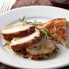 Try the Burgundy Mustard-Marinated Pork Recipe on williams-sonoma.com/