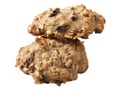 Honey Oatmeal-Raisin Cookies from FoodNetwork.com. Half the sugar and fat content of regular oatmeal cookies. Geno's dad would love.