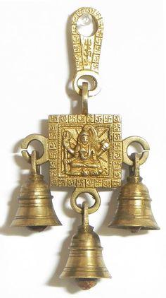 Shiva Hanging Bells (Brass)