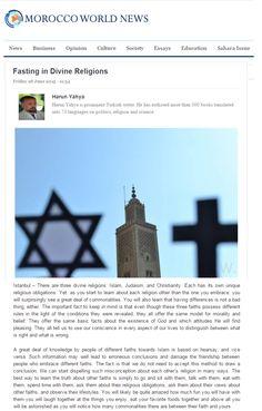 Fasting in Divine ReligionsMorocco World News http://www.moroccoworldnews.com/2015/06/161802/fasting-in-divine-religions/