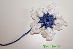TANT GRÖN: Virka en midsommarkrans Hanukkah, Ravelry, Crochet Patterns, Wreaths, Blogg, Journal, Amigurumi, Flowers, Door Wreaths
