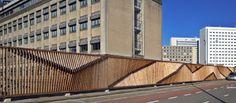 fence erasmus medical center - rotterdam - Origins Architecture