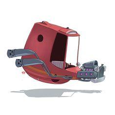Ze Future: Car Illustrations by Ido Yehimovitz