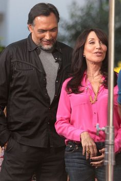 Katey Sagal and Jimmy Smits on Sons Of Anarchy