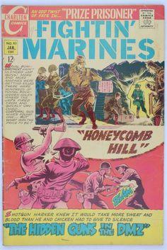 Charlton Comics Fightin' Marines 83 1969 VG/FN Vintage Sanho Kim Bill Montes War   eBay