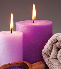Create your own relaxing granite pillar candles!