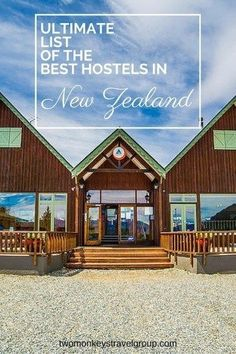 Ultimate List of The Best Hostels in New Zealand. In this article, you will find the following  Best hostels in Auckland; Best hostels in Queenstown; Best hostels in Christchurch; Best hostels in Wellington; Best hostels in Rotorua; Best hostels in Taupo