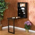 Southern Enterprises Fold-Out Convertible Desk in Black HD092911 at The Home Depot - Mobile