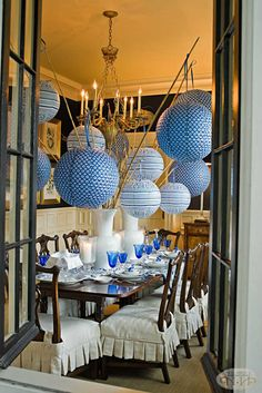 I am crazy about paper lanterns #nellhills #decoratingtools #summerparty