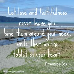 """INTRO: """"I'm grateful to have God's Word on my mobile, my Kindle, my laptop, my bookshelf, but where it makes the most difference is in my heart."""" http://www.lizcurtishiggs.com/2014/01/your-50-favorite-proverbs-write-them-on-your-heart/"""