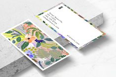 Ad: Wander Floral Business Card Template by 8 3 O® on Introducing our Wander business card template, perfect for use in your next project or for your own brand identity. All our design templates Graphic Design Templates, Card Templates, After Effects, Personal Cards Design, Design Package, Business Stationary, Name Card Design, Bussiness Card, Photoshop
